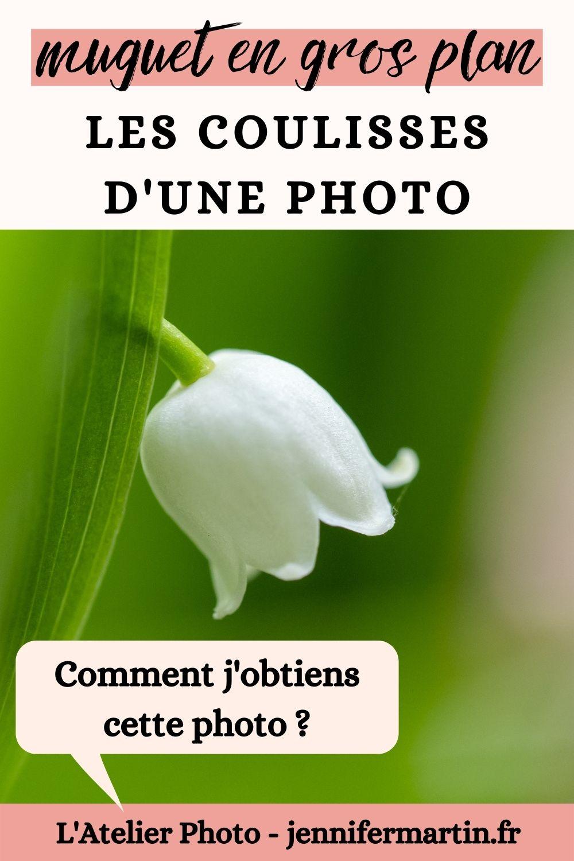 Les coulisses d'une photo : muguet en gros plan   L'Atelier Photo   L'Atelier Photo