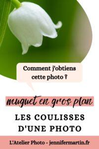 Les coulisses d'une photo : muguet en gros plan   L'Atelier Photo