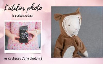 Les coulisses d'une photo : photographier un doudou