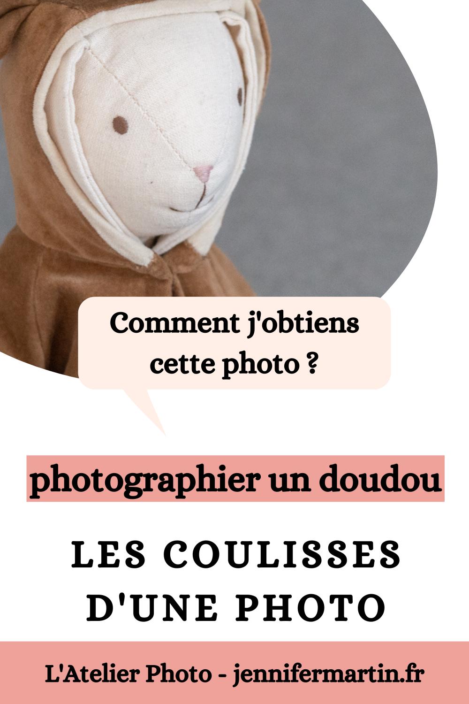 Les coulisses d'une photo : photographier un doudou | L'Atelier Photo