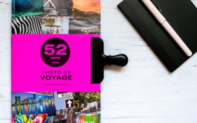 LIVRE : 52 défis – photo de voyage