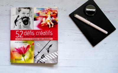 LIVRE : 52 défis créatifs pour le photographe