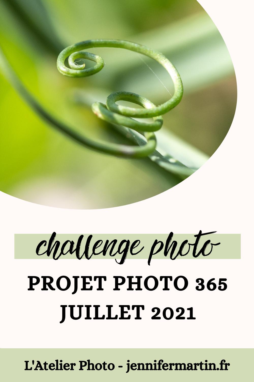 L'Atelier Photo | Projet 365 - Juillet 2021